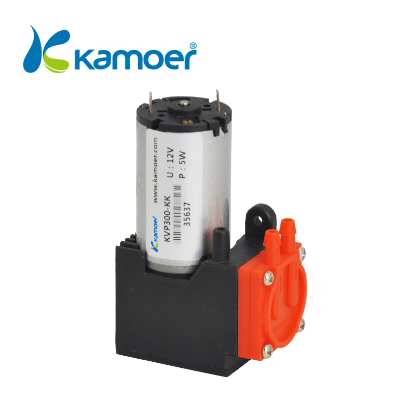 Kamoer KVP300 mini electric air pump brush motor brushless motor 12/ 24V motor micro diaphragm vacuum pump kamoer kvp300 micro diaphragm vacuum pump with dc motor mini air pump 12v 24v with high nagative pressure vacuum degree