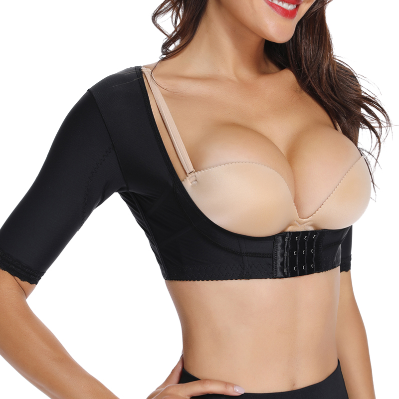 Miss Moly Invisible Chest Lifter Seamless Arm Shaper Corrective Underwear Slimming Shapewear Body Slimmer Modeling Corset in Tops from Underwear Sleepwears