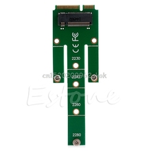 NGFF M.2 B Key SATA-Based SSD to 2230 2242 2260/80 Mini PCI-e mSATA Adapter Card #H029#