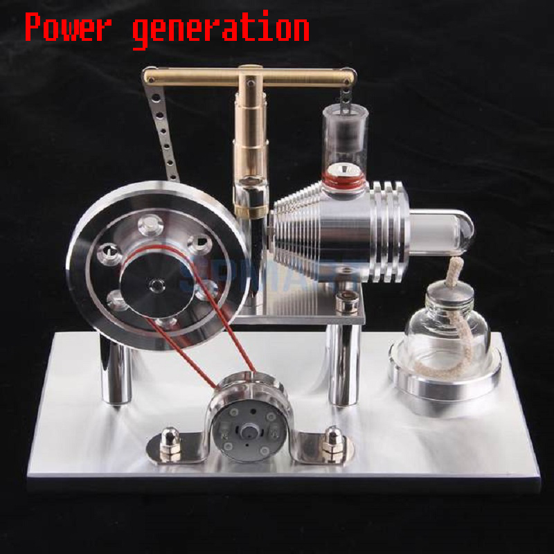 Sterling Engine, Sterling Generator, Engine, Physical Toys, Steam Engine