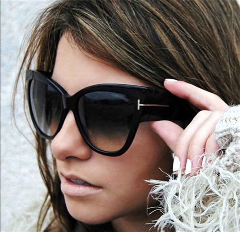 Cat Eye Big Oculos Women Sunglasses 2