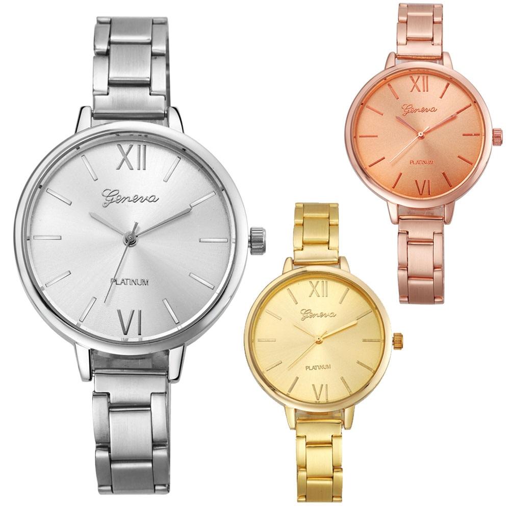Special Pattern dameshorloges luxe Simple paar Geneva Fashion Dames - Dameshorloges - Foto 3