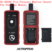 Autoptgo EL-50449 Auto Tire Pressure Monitor Sensor TPMS Reset Tool Relearn Tool For Ford Lincoln Mercury TPMS Activation Tool autel maxitpms ts401 tpms diagnostic and service tool pre selection process offer faster activation and diagnostics