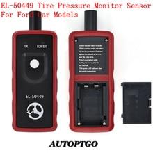 цена на Autoptgo EL-50449 Auto Tire Pressure Monitor Sensor TPMS Reset Tool Relearn Tool For Ford Lincoln Mercury TPMS Activation Tool