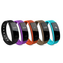 QS80 Bluetooth Smart Band Водонепроницаемый часы Шагомер сна монитор сердечного ритма браслет трекер для Android/IOS фитнес-браслет