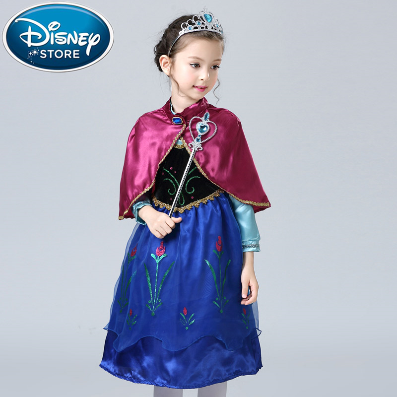 Frozen Elsa Anna Kids Girls Dress Costume Princess Party Fancy Xmas Christmas Clothing, Shoes & Accessories Clothing, Shoes & Accessories