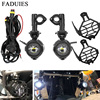 FADUIES 2Pcs/set Universal Motorcycle LED Auxiliary Light Car Fog Light Assemblie Driving Lamp For BMW R1200GS/ADV/F800GS