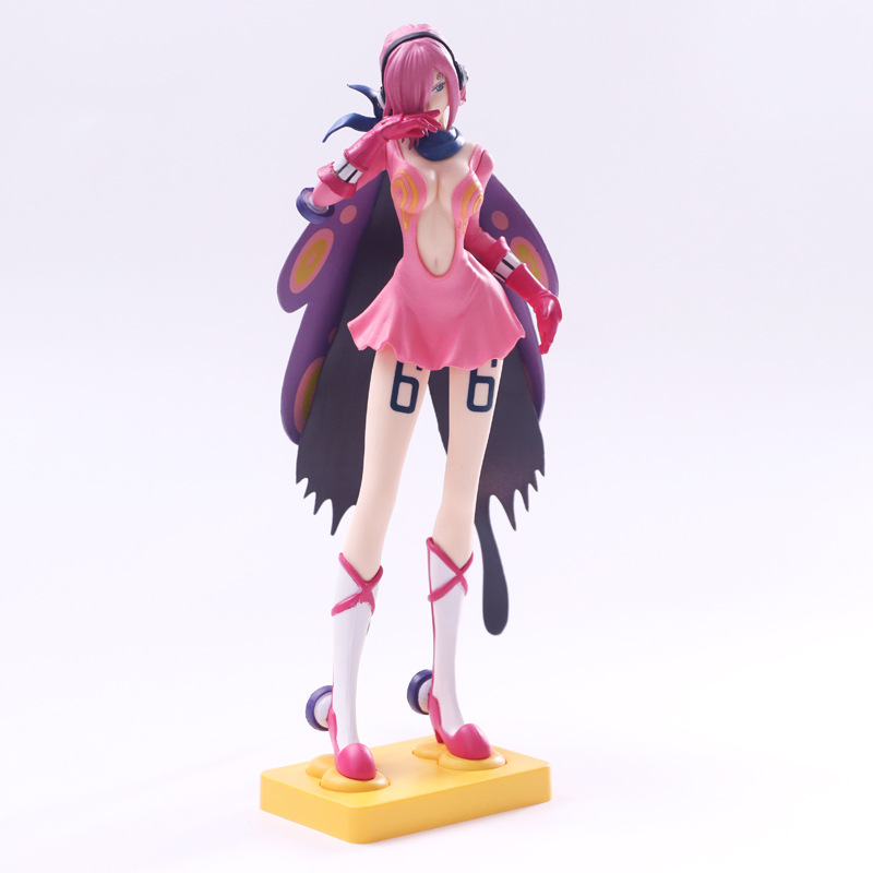 <font><b>ONE</b></font> <font><b>PIECE</b></font> Flash Vinsmoke Family Vinsmoke <font><b>Reiju</b></font> Sister of Sanji PVC Action Figure Model Toys 25cm image