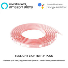 Newest Youpin Yeelight Light Strip Plus Upgrated Version Smart Extension LED Strip Light Band work to mi home app