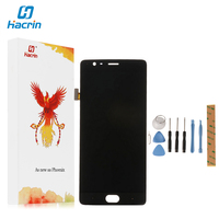 Hacrin For Oneplus 3 LCD Display Touch Screen New Digitizer Screen Glass Panel Replacement For One