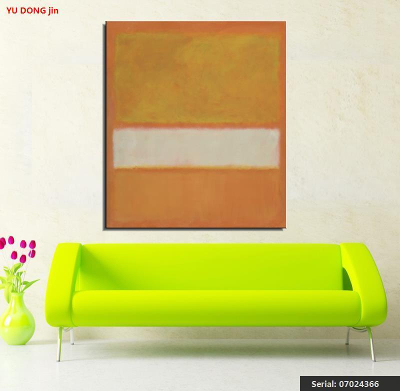 Mark Rothko csendélet Klasszikus olajfestmény Rajz művészet Spray - Lakberendezés