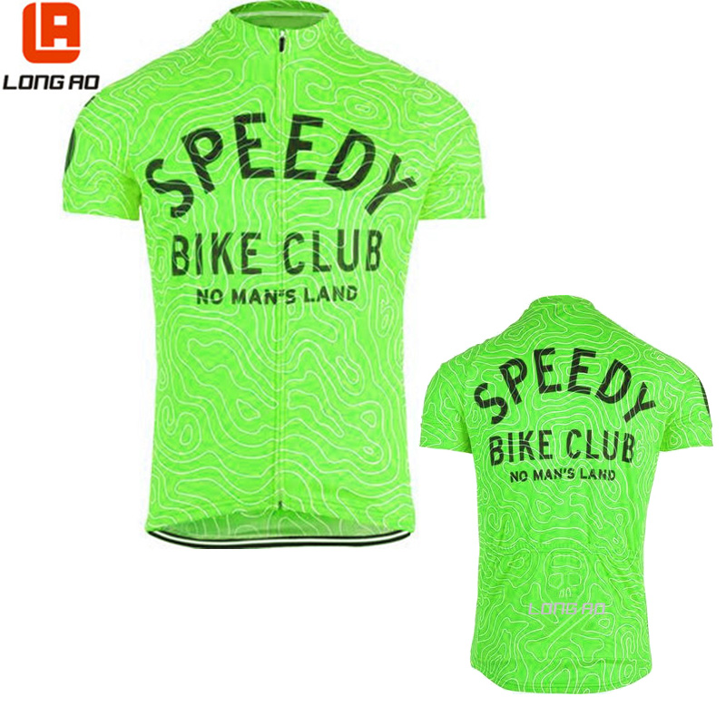 LONG AO 2 color streak Maze cycling jersey riding bike clothing bicycle wear short sleeve ropa ciclismo maillot custom man