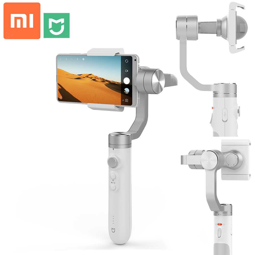 Xiaomi 3 Axis Handheld Gimbal Portable Stabilizer Intelligent Following 5000mAh Li Battery For IOS Adroid Phone