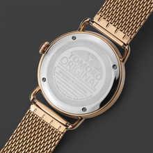 TOMORO 2018 Creative Man XFCS Rose Gold Mesh Strap Luxury Brand Men Fashion Sports Quartz Clock Geek Free Style Date Watches