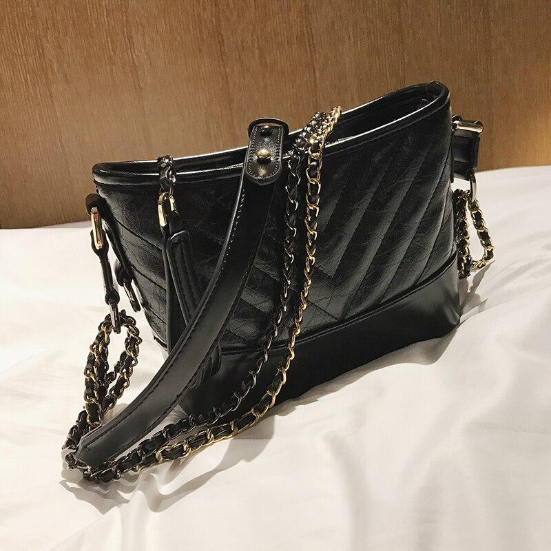 Sac à bandoulière femme sac à main de luxe femme Designer marque dames chaîne sacs à bandoulière pour fille Vintage Messenger sacs Bolsos Mujer