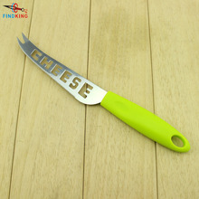 FINDKING Brand High quality green ABS handle with Stainless Steel cheese knife with fork cheese tools cheese slicer camvate qr top cheese handle with 70mm nato rail