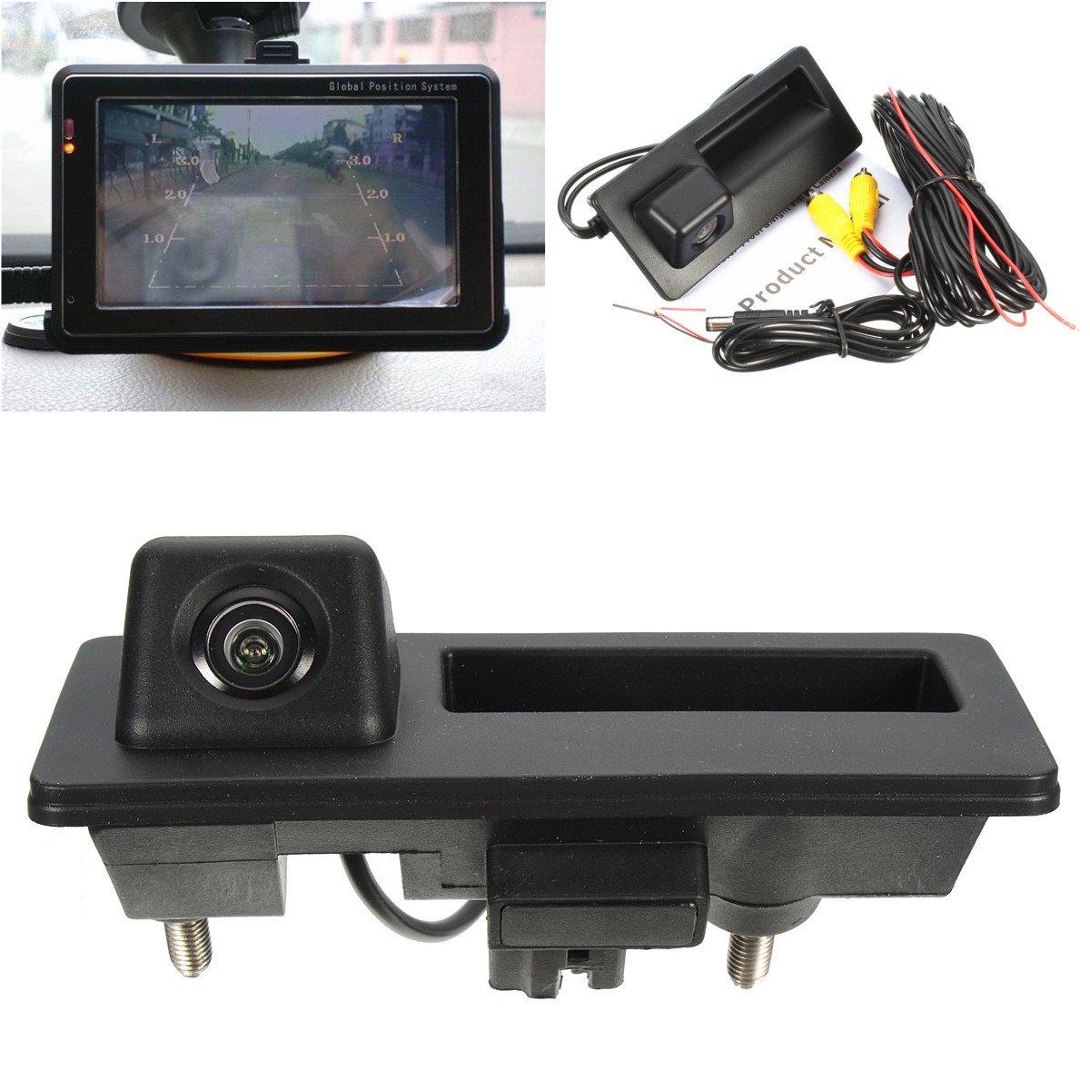 Caliente cámaras de visión trasera del coche que invierte la cámara reversa para VW/JETTA/TIGUAN/RCD510/RNS315/RNS310 /RNS510