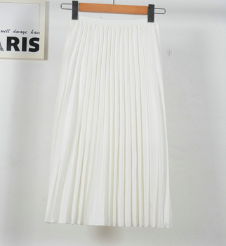 20afde02b 2019 moda alta cintura estiramiento mujeres Faldas blancas Boho