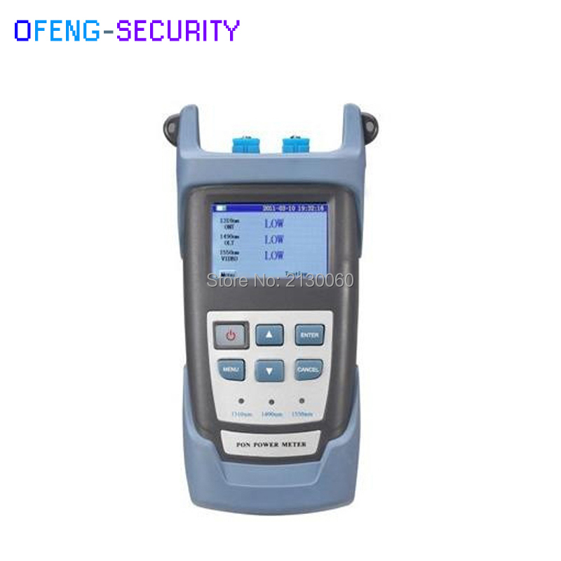 PON Fiber Optical Power Meter RY3201 PON Power Meter Wavelength 1310 1490 1550nm Fiber Optic Tester free shipping noyafa nf 906c new optical power meter 850 1300 1310 1490 1550 1625nm and detecting range dbm 50 26