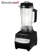 767S 2 BPA Fress Blender Smoothie Blender for Kitchen 2200W Heavy Duty Commercial Blenders Ice Fruit Crusher Plastic Jar