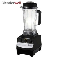 767S-2 Electric Blender for Kitchen 2200W Heavy Duty Commercial Blenders Ice Fruit Crusher Plastic Jar Household Appliances