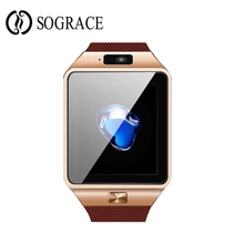 DZ09 Smart Watch untuk IOS Sokongan Telefon Android SIM TF Inteligente Smartwatch PK GT08 U8 Stock Electronics Smart Wearable