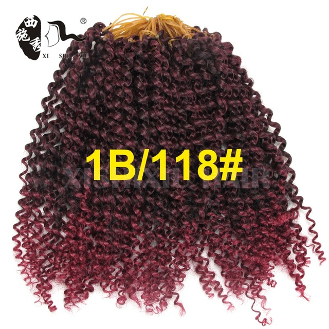 Free Shipping 10 Curly Hair Weaves Freetress Curly Crochet Hair