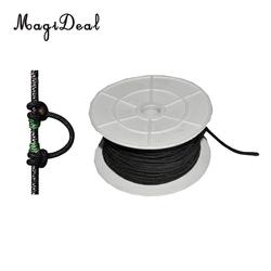 Outdoor Nylon Archery D Loop Rope Material Bow String Release Nock Hunting 5/3/10m for Compound Bow Archery Accessorie