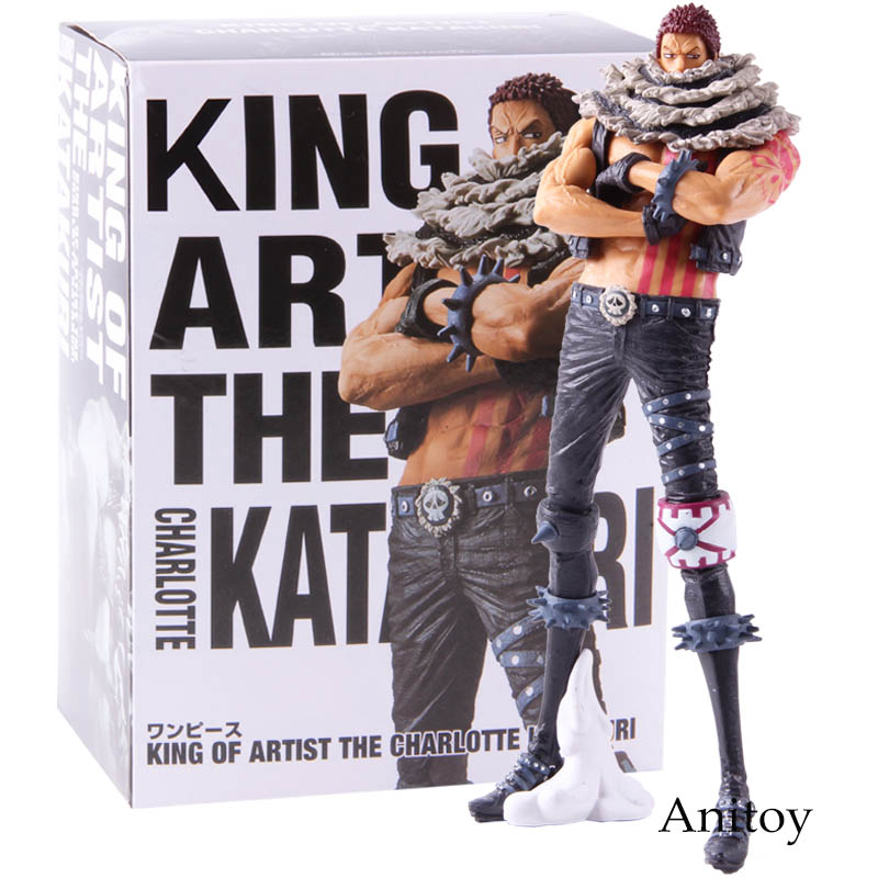 Anime One Piece KOA King Of Artist Charlotte Katakuri PVC Action Figure Collectible Model Toy Gift