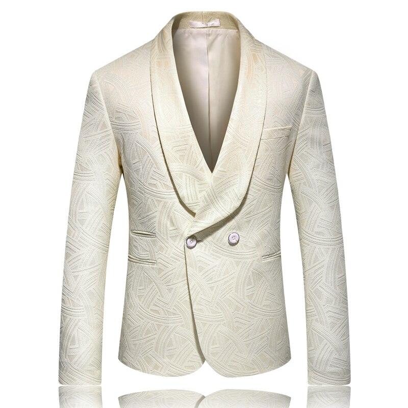 Элегантный и элегантный мужской пиджак S-5XL модный тонкий мужской пиджак 2019 новый мужской блейзер