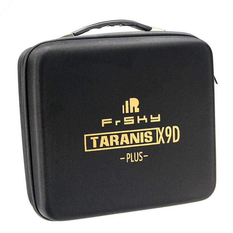 High Quality Portable Frsky Taranis X9D PLUS Remote Controller Transmitter Bag EVA Handbag Hard Case For RC Models