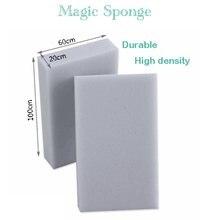 Esponja mágica da melamina do líquido de limpeza da espuma da melamina para a limpeza 100x60x20mm do banheiro da cozinha 70/bloco