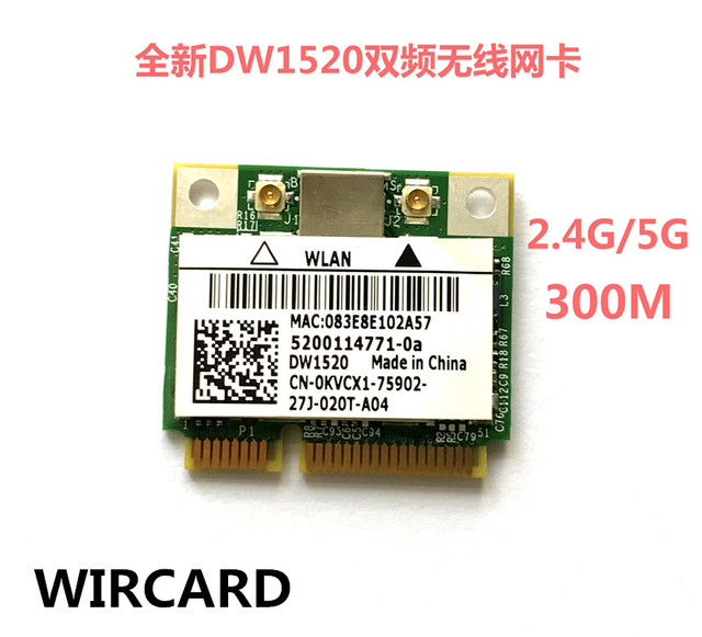 DW1520 WIRELESS CARD DRIVER FOR WINDOWS DOWNLOAD