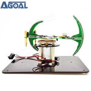 Image 2 - لتقوم بها بنفسك ثنائي المحور كروية الدورية LED عدة أدوات تدريب لحام POV الإبداعية