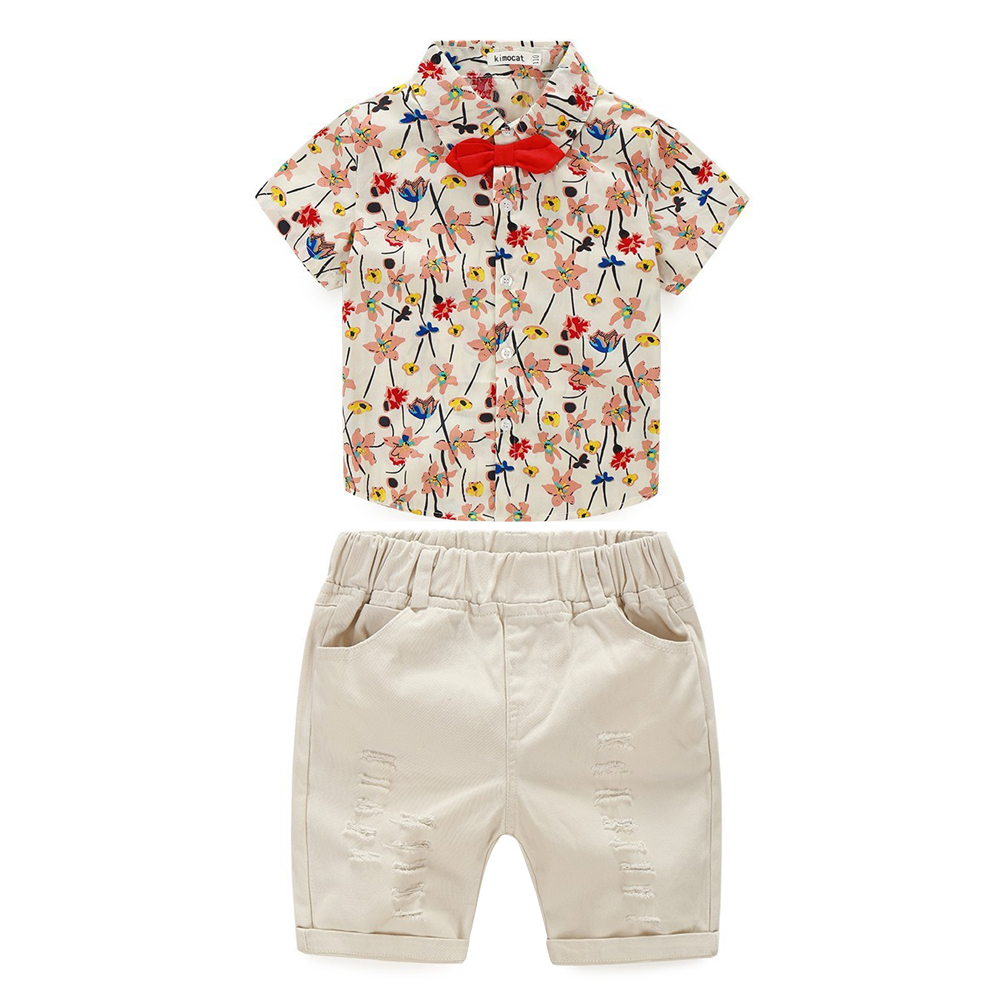 2017 Baby Clothing Sets Kids Summer Style Boys Fashion Children Suits Short Sleeve T shirt + Shorts Spring  Clothes Set blanco elipso s ii grey beige