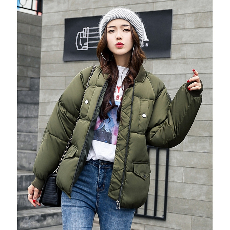 2017 NEW HOT SALE WOMEN SHORT WINTER JACKET COAT THICKEN WARM SOLID FEMALE PARKAS COTTON PADDED HIGH QUALITY ZL358 100 foolproof suppers my kitchen table