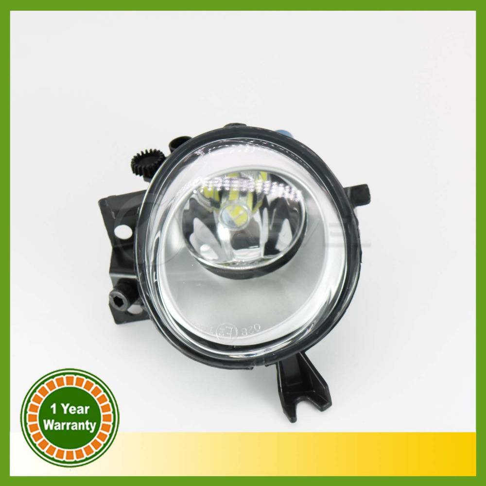 Car Styling LED Light For VW Touareg 2003 2004 2005 2006 2007 Right Side LED Front Bumper Fog Lamp Fog Light With Bulb free shipping for vw polo 2005 2006 2007 2008 new front left side halogen fog light fog light with bulb