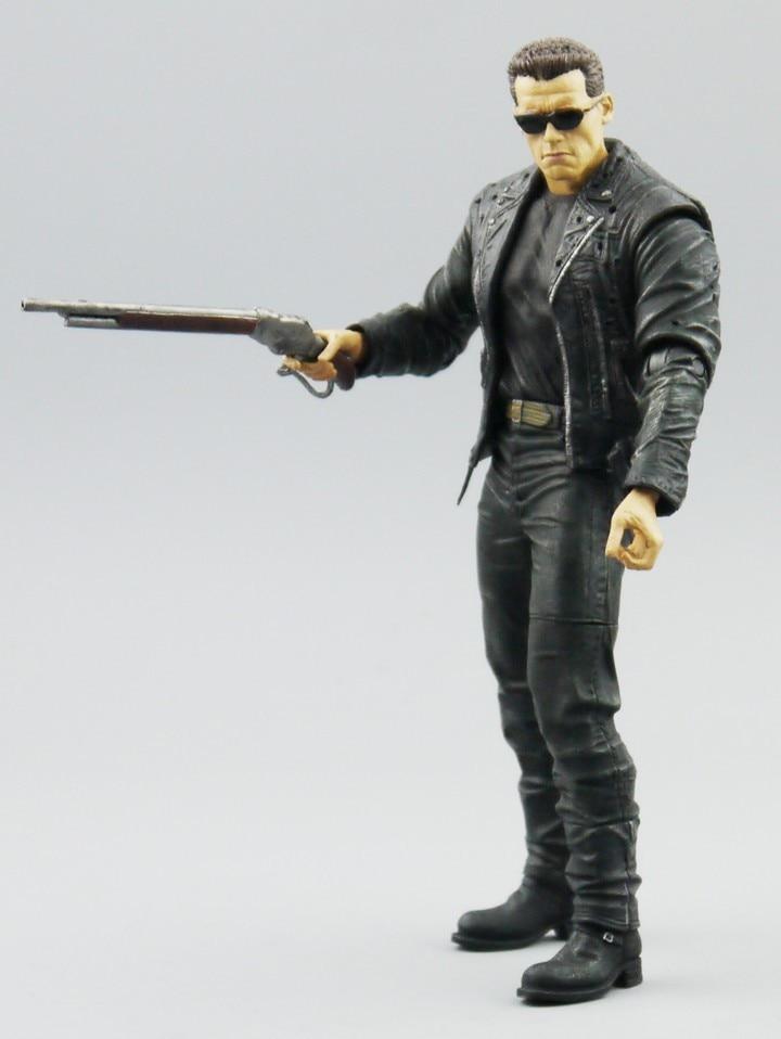 (NO box) Besplatna dostava NECA Terminator 2 Akcija Slika T800 - Igračke figurice - Foto 5