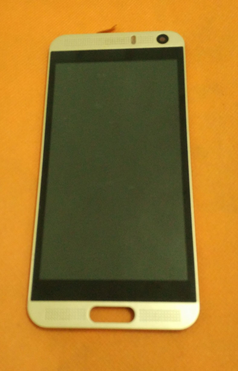 Used Original LCD Display +Digitizer Touch Screen+Frame For Vkworld VK800X MTK6580 Quad Core 5