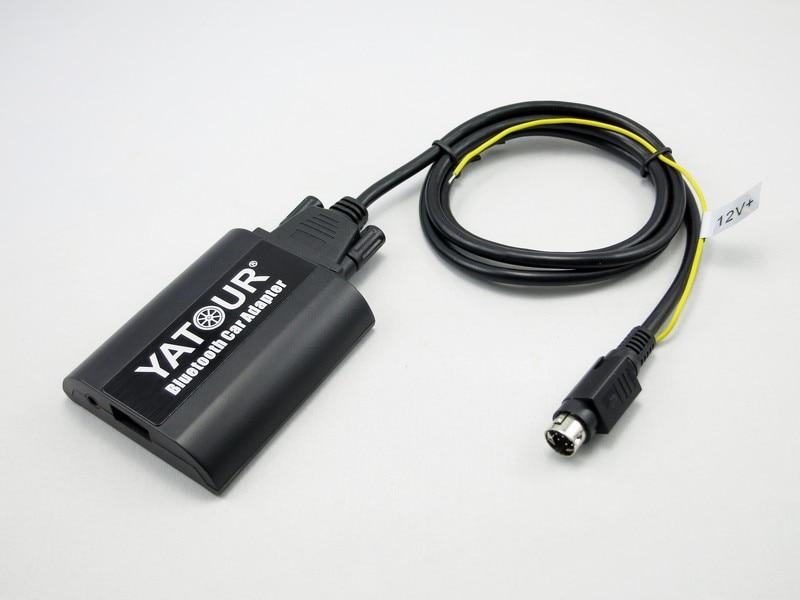 Yatour Bluetooth MP3 telefoontje handsfree kit BTA met Afstandsbediening voor Volvo SC autoradio radios - 2