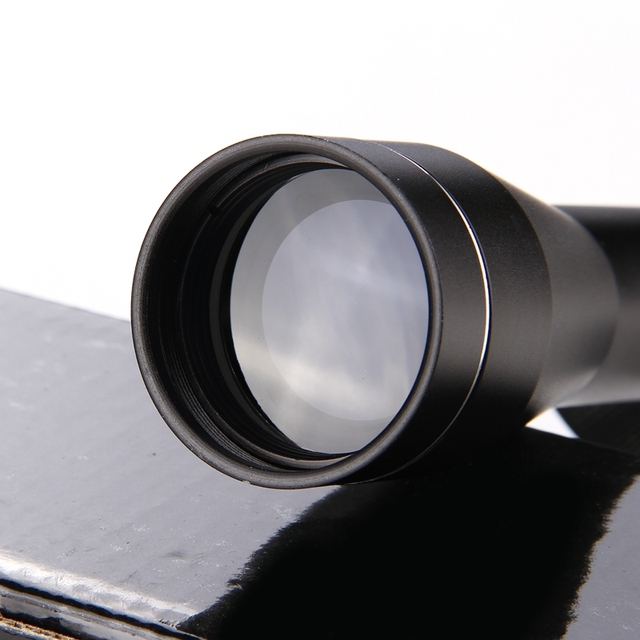 4X32 Adjustable  Optical Sight Etched Glass Tactical Riflescope Reticle Sight Scope for Shotgun Rifle Hunting  4