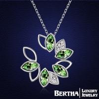 Unique Design Choker Necklace Colar With Swarovski Elements Crystals For Women Ladies Girls Fashion Necklaces Pendants