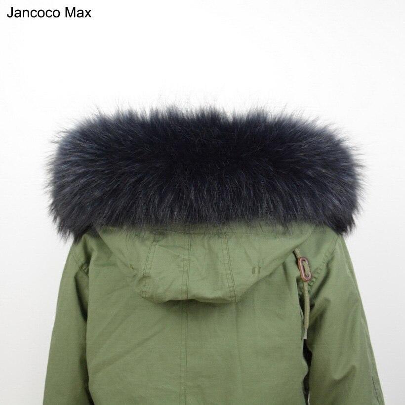 Lining 70cm Real Fur Collar Genuine Raccoon Dog Fur Trim Scarf For Women Man Jacket Parka Fashion Warm Hooded Collar S1471WS