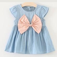 Summer Newborn Baby Dress Deguisement Minnie Girl Dresses First Birthday Outfit Cute Knee-Length 1-3 Old