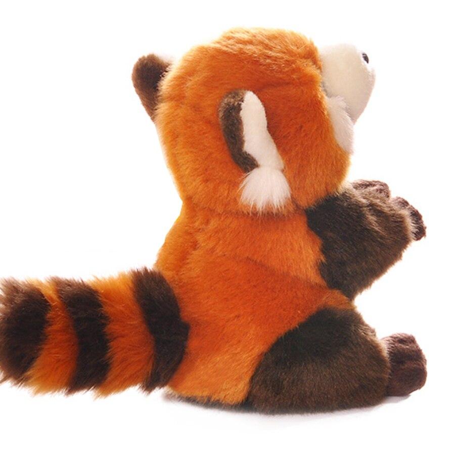 Red Panda Simulation Plush Cute Stuffed Animals With Big Eyes