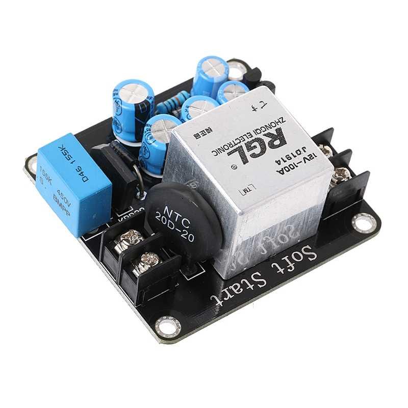 1pcs 100A 4000W High-Power Soft Start Circuit Power Board for Class A Amplifier Amp