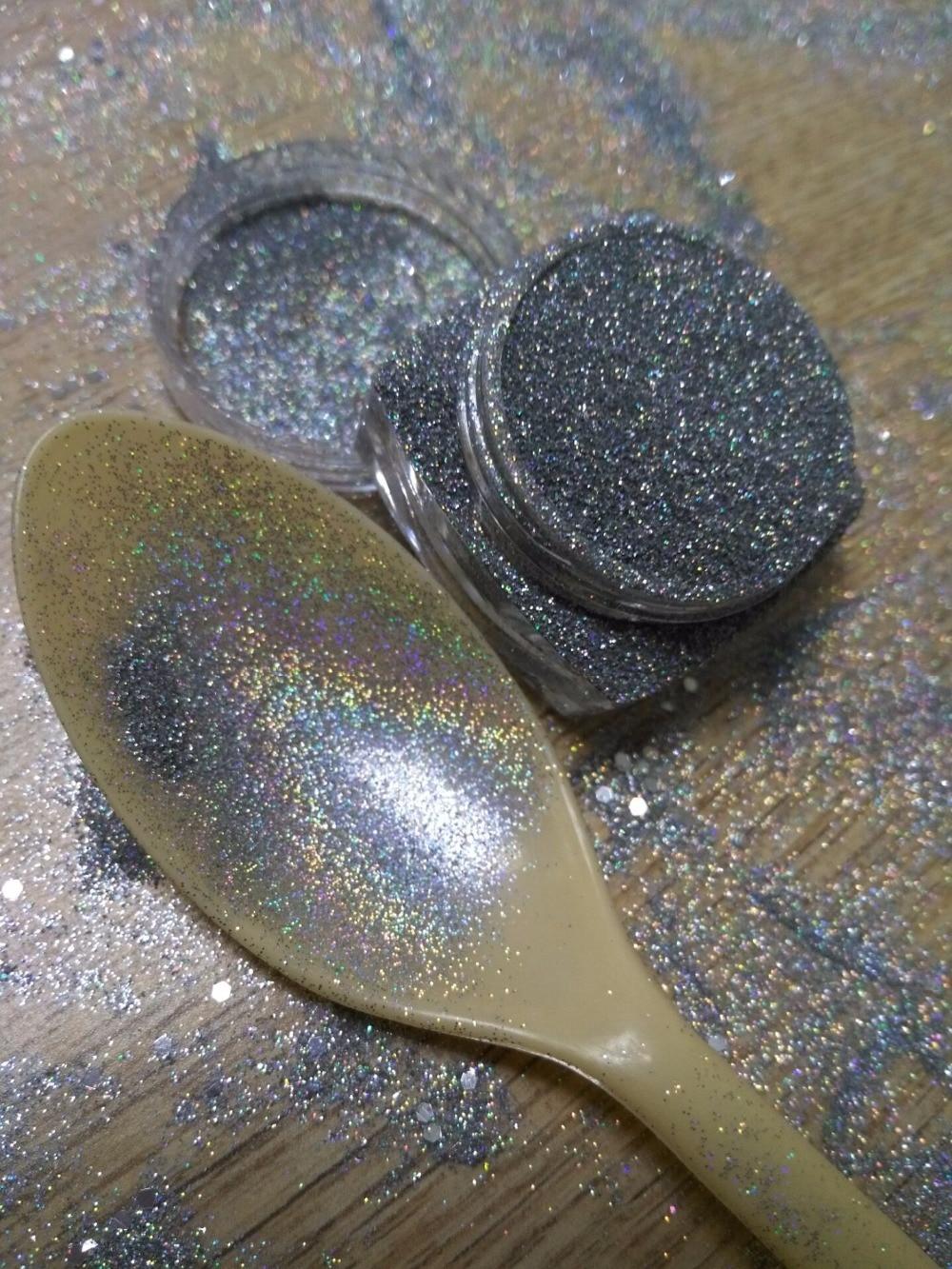 Zielstrebig 5 Gr/schachtel Holographische Nagel Glitter Pulver Nail Art Holo Glitters Pulver Staub Shinny Gold Splitter Nail Art Dekorationen Set Nagelglitzer