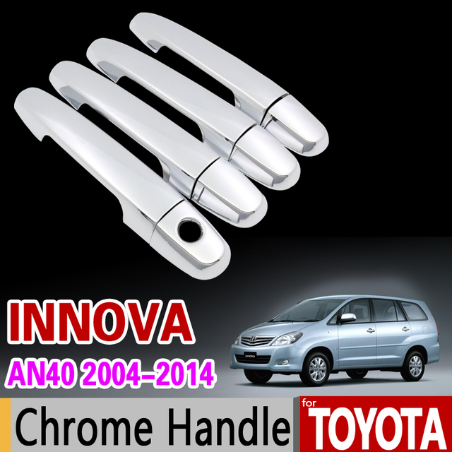 group all new kijang innova toyota 2017 for 2004 2014 chrome handle cover trim set an40 2006 2008 2010 2012 2013 car accessories stickers styling