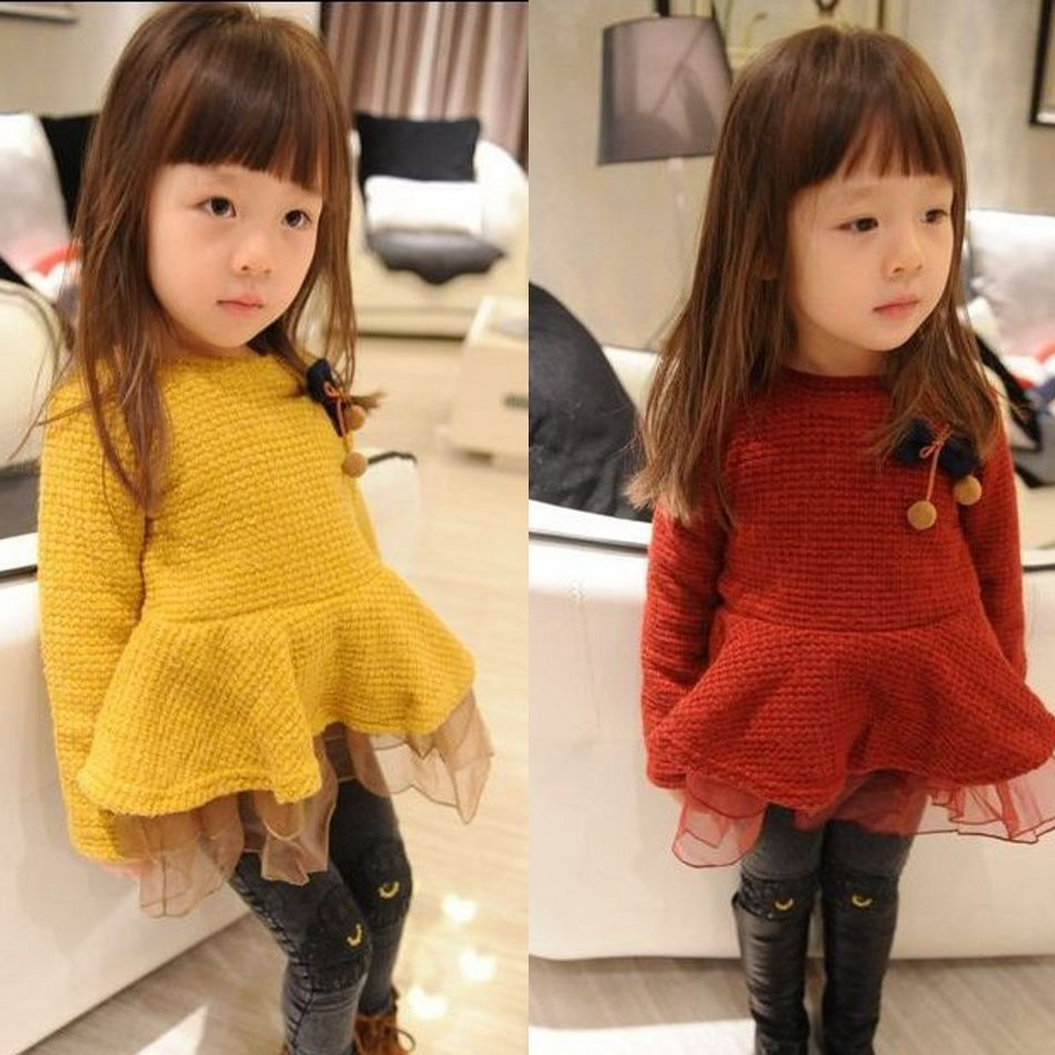 ФОТО Free shipping Girls autumn/winter children 's clothes thick peach dress quilted velvet mini dress