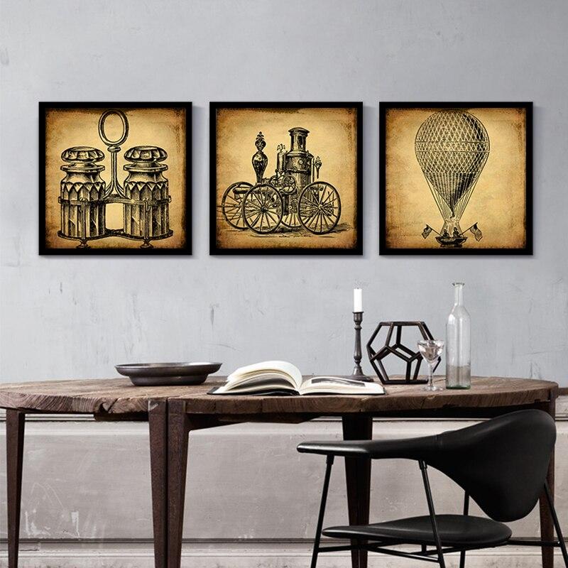 Постеры для интерьера кафе